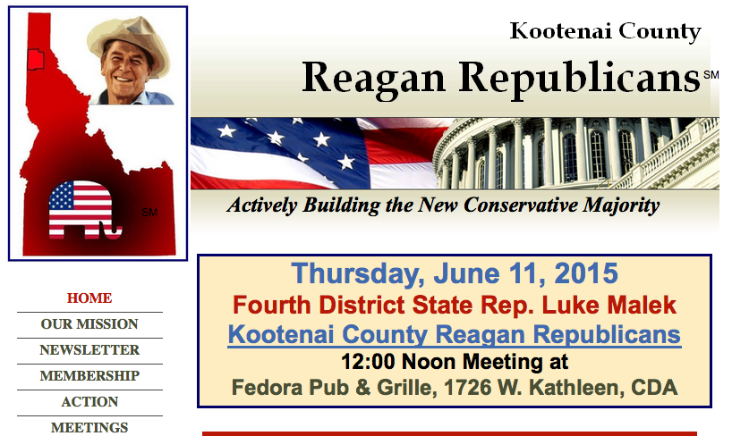 Kootenai County Reagan Republicans
